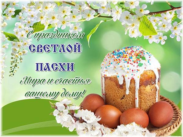 Красивые православные поздравления с Пасхой короткие смс